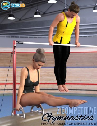 Z Competitive Gymnastics Props and Poses