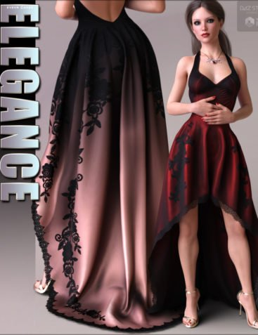 Elegance for dForce Exalted Dress
