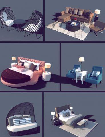Interior Furniture 01