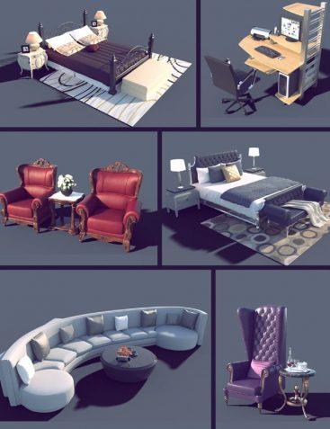 Interior Furniture 02