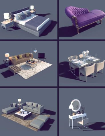 Interior Furniture 03