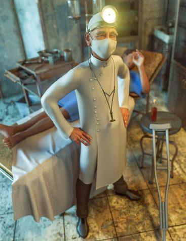 dForce Vintage Doctor For Genesis 8 Male(s)