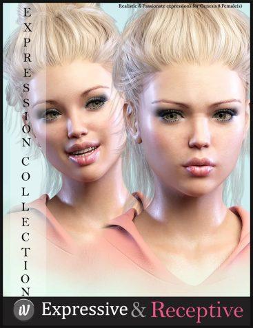 iV Expressive & Receptive Communication For Genesis 8 Female(s)