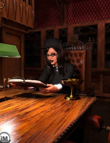 FG Gothic Library Poses