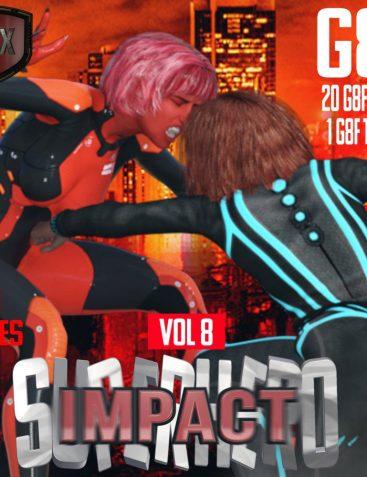 SuperHero Impact for G8F Volume 8