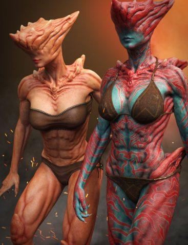 Uber Demoness HD for Genesis 8 Female