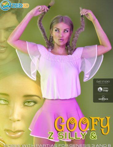 Z Silly and Goofy Pose Mega Set