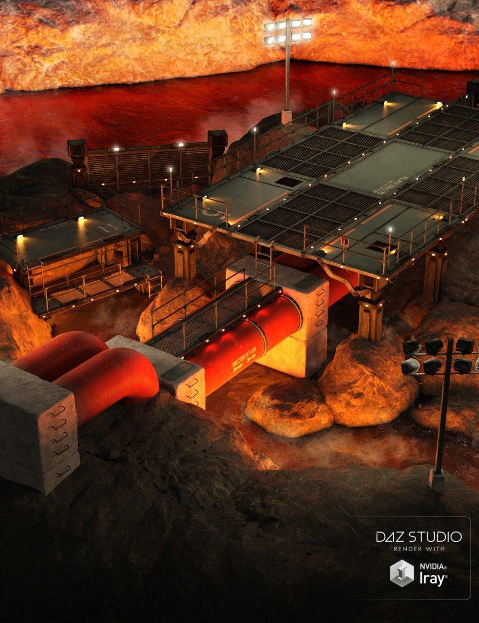 Aeridian Final Battle Modular Arena