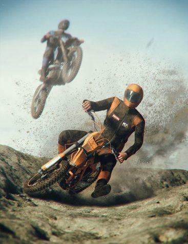 Off Road Motorbike