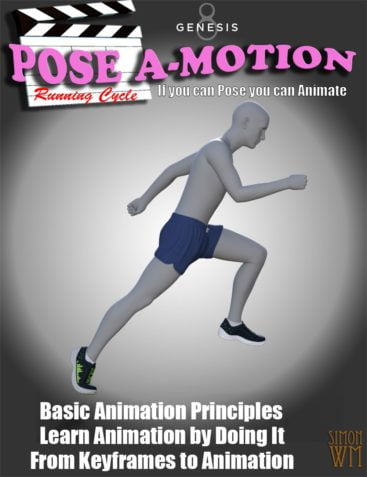Pose a-Motion Running Cycle