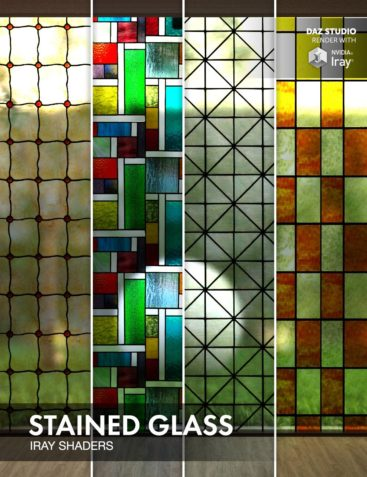 Stained Glass - Iray Shaders