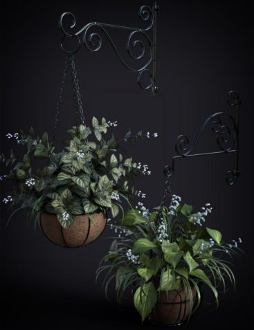 DGV Miniature Gardens vol 3 Hanging Plants