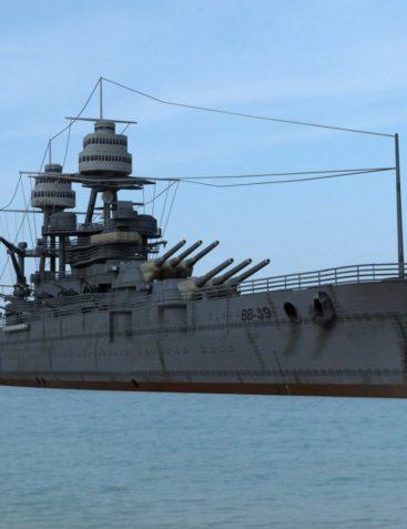 USS Arizona for DAZ Studio