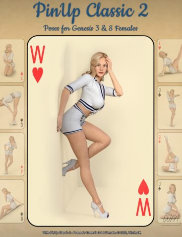 WMs PinUp Classic 2 - Poses for Genesis 3 and 8 Females