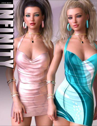 Infinity for dForce Hype Dress G8F