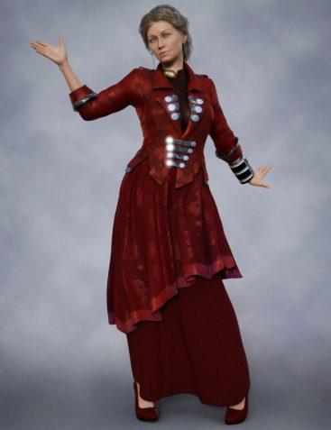 dForce Futuristic Dress Textures
