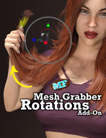 Mesh Grabber Rotations Add-On