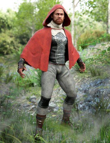 dForce Sky Rebel Outfit for Genesis 8 Male(s)