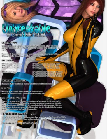 Unbreakable for Exnem's Killer Catsuit
