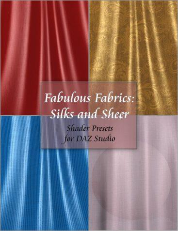 Fabulous Fabrics: Silks and Sheer - Shader Presets for DAZ Studio