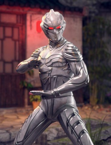 BaiHu - The White Tiger Outfit for Genesis 8 Male