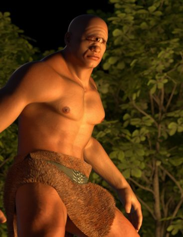 Chthonian Cyclops for Genesis 8 Male