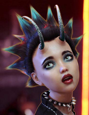 Alchemy for Fantasy Horns Vol 2 for Genesis 8 Female(s)