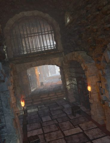 Castle Gravestone: The Dungeon Cells