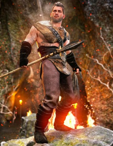 Viking Hunter Outfit for Genesis 8 Males